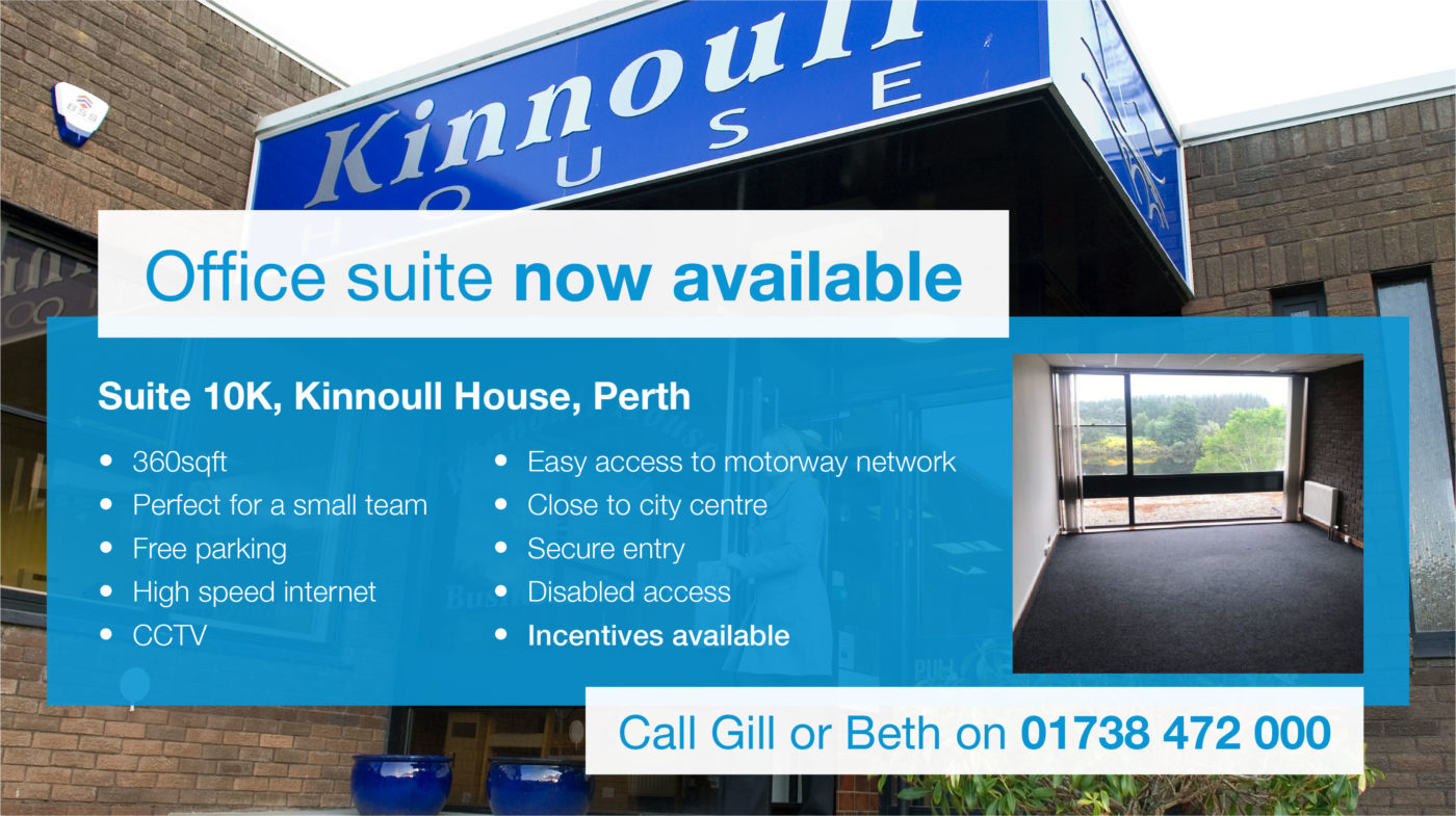 Kinnoull House office space vacancy