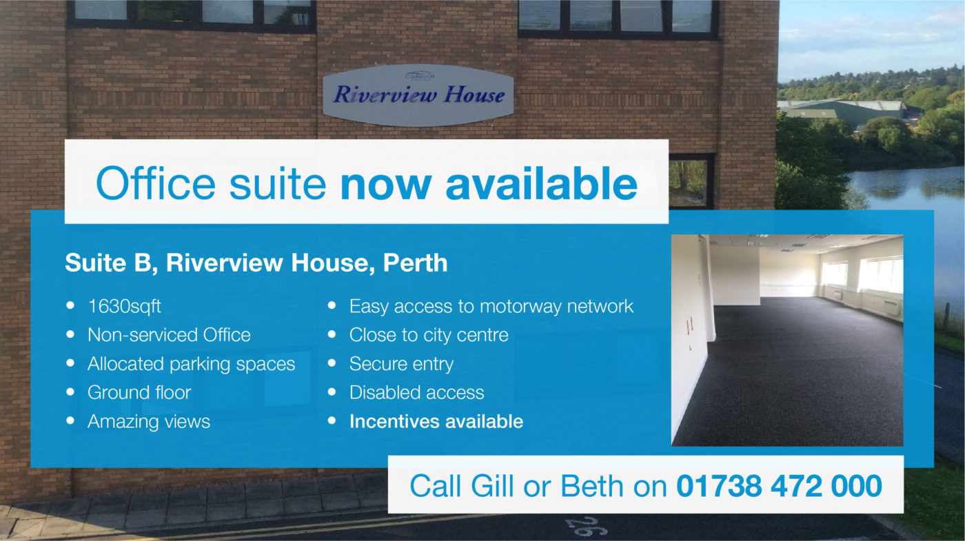 Riverview House suite available